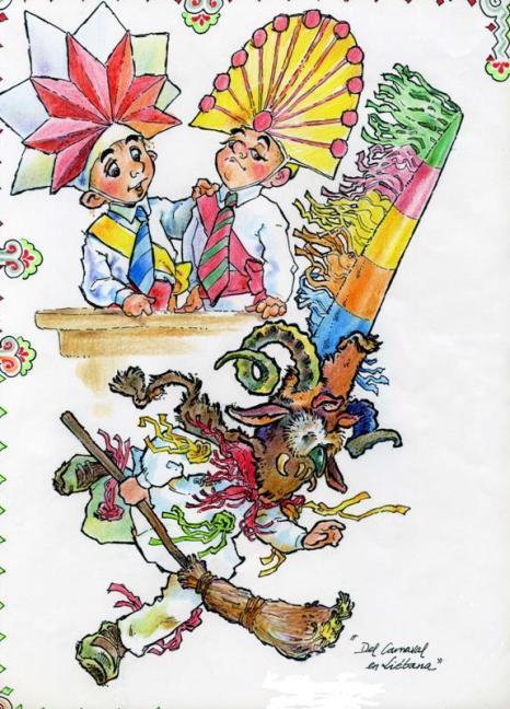 Ilustración Zamarrones Liébana - GustavoCotera